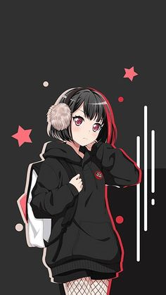 Ran Mitake – BanG Dream! Wallpaper Ran Mitake – BanG Dream! Wallpaper – Korigengi — Anime Wallpaper HD Source Related Funny Images That Book Lovers Know All Too Well -Skagerak Denmark Sitz zum. Anime Neko, Kawaii Anime Girl, Manga Anime Girl, Cool Anime Girl, Anime Girl Drawings, Cute Anime Pics, Wolf Drawings, Anime Kiss, Cool Anime Wallpapers
