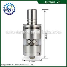 New version orchid v3 atomizer kayfun style most hot selling RBA high quality orchid v4 atomizer clone