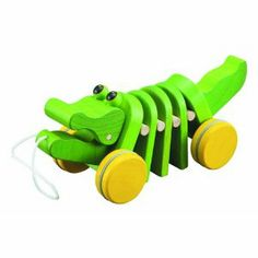 Plan Toys Dancing Alligator ($13.49) This company has a lot of really cute wooden toys
