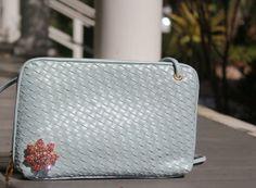 Pastel Purse Baby Blue Small Handbag Light by PrimaDonnaBoutique, $20.00