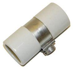Standard Base Porcelain Keyless Twin Westinghouse Socket