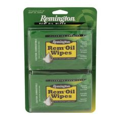 """Rem Oil Wipes (12 Count)6"""" X 8"""" wipes"""