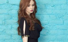 Download wallpapers Karen Gillian, scottish actress, beauty, Hollywood