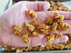 The Country Cook: Homemade Granola