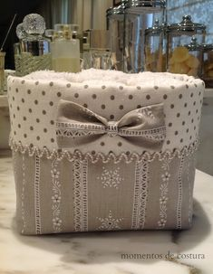 Moments Sewing-basket for hand towels