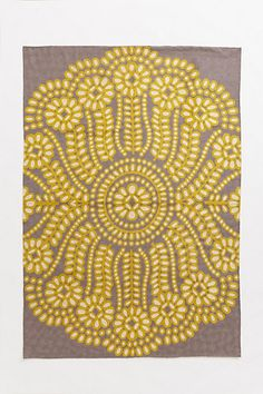 Embroidered Ellie Rug #anthropologie