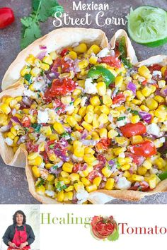 Mexican Street Corn salad with cotija cheese is a quick vegetarian side dish to make any time. Vegetarian Comfort Food, Vegetarian Meals For Kids, Vegetarian Mexican, Vegetarian Side Dishes, Vegetarian Appetizers, Vegetarian Recipes, Corn Recipes, Veggie Recipes, Mexican Food Recipes