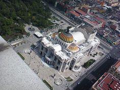 """""""Palacio de Bellas Artes desde el mirador de la Torre Latinoamericana"""", foto 12"""