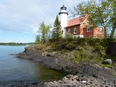 Michigan's Upper Peninsula is home to many lighthouses and even a shipwreck museum on the site of the lake's first lighthouse, built in 1849.