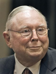 Charlie Munger, one of our wisest