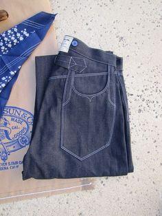 Rising Sun x Ab Via super denim - love this pocket!