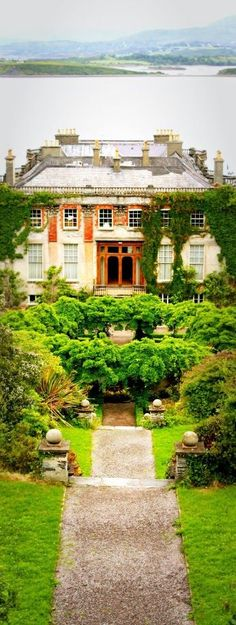 Bantry House and Garden is situated on the Wild Atlantic Way in Bantry, County Cork, Republic of Ireland. In 1690 Captain Richard White and his family moved from Limerick to Bantry Bay. Today, the eighth and ninth generation of the family still own, manage and live on the estate. Photo: google+.com