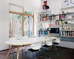 Allermuir Soul chairs in PearsonLloyd's studio. Photo taken from Dezeen