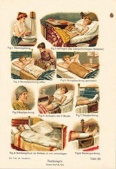 ☤ MD ☞☆☆☆ 1919 Antique MEDICAL BANDAGES.