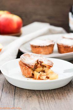 Rezept: Apfel-Mürbeteig-Küchlein