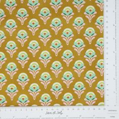 Tela de patchwork con flores de Heather Bailey