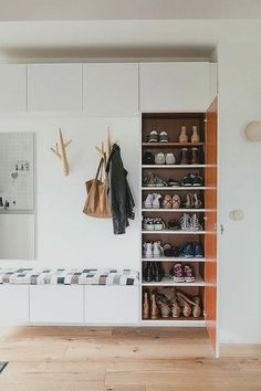 Entryway, entry hall, renovation of a Bungalow. - Entryway, entry hall, renovation of a Bungalow… – Interior, Home, House Entrance, Hallway Storage, Entrance Hallway, Entryway Closet, House Interior, Entryway Shoe, Entryway