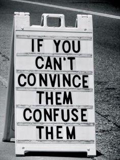 convince-confuse