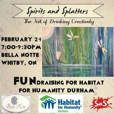 Join us for the ultimate fundraiser with Habitat for Humanity! Proceeds from your ticket will go directly to a local Oshawa build project through HFH. #BellaNotte #Whitby #Durham #HFH #HabitatforHumanity