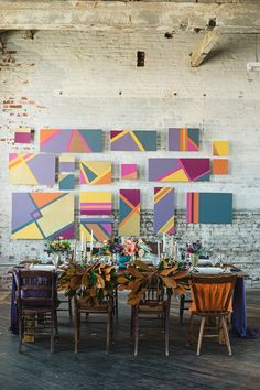 geometric wedding ideas, photo by Alexandra Whitney, styling by Juniper & Dash http://ruffledblog.com/mixed-metal-geometric-inspiration #geo #weddingideas #geometric