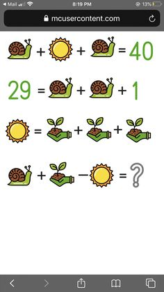 Mind Puzzles, Maths Puzzles, Math Activities, Logic Problems, Numbers Preschool, Picture Puzzles, Bunny Crafts, 4th Grade Math, Brain Teasers