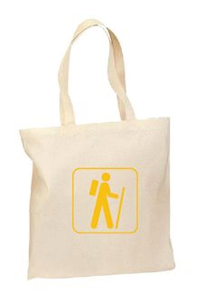 The Hiker Tote, Hand printed, Grocery Bag, Reusable Bag, Screenprinted, Hike, Cotton Tote, Canvas Tote, Shopping Bag, Gift by TotesMyTotesCo on Etsy https://www.etsy.com/listing/219078195/the-hiker-tote-hand-printed-grocery-bag