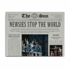 Newsies The Musical - Program
