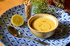 S vášní pro jídlo: Řecká cizrnová polévka Cantaloupe, Healthy Recipes, Healthy Food, Peanut Butter, Pudding, Fruit, Desserts, Soups, Collection