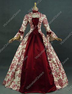 Georgian Victorian Gothic Period Dress Wedding Gown Reenactment Clothing 138 #VictorianChoice #Dress -$134.10 - 2XL