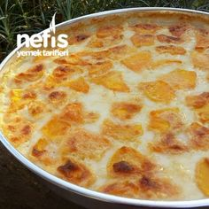 Mom's Oven Baked Milk Pumpkin Dessert (Gorgeous Flavor) – Bavece Turkish Recipes, Ethnic Recipes, Best Fruits, Pumpkin Dessert, Gluten Free Chocolate, Afternoon Snacks, Easy Meals, Food And Drink, Cooking Recipes