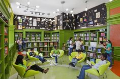 Michael Bierut on The Great Discontent (TGD) Teen Library Space, School Library Design, Middle School Libraries, Kids Library, Elementary Library, Library Lessons, Classroom Design, Library Ideas, Nyc Library