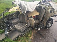 PLANTÃO JORNAL O RESUMO: Acidente destrói veículo e criança se salva