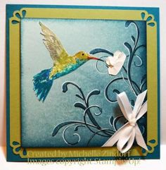 Hummingbird with a Flourish – Stampin' Up! Card
