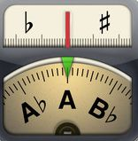 """Cleartune - Chromatic Tuner By Bitcount ltd. """"My most indispensable app is my guitar tuner, Cleartune. None of the old visual or analog tuners are as precise. I've even taken it on stage with me! Ipod Touch, Gorillaz Albums, Grammy Nominees, Guitar Tuners, Elementary Music, Teaching Music, Teaching Tips, Music Classroom, Piano Lessons"""