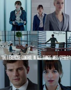 Fifty Shades of Grey Trailer - Scenes from Anastasia Steele's Interview with Christian Grey
