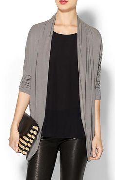 Love this lycra jersey cardigan http://rstyle.me/~2uqXR