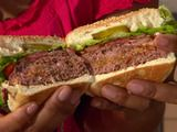 Bacon, Onion and Cheese Stuffed Burger--thanks, Jeanie, for calling my attention to this!