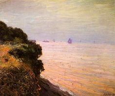 Langland Bay, England, Morning - Alfred Sisley 1897
