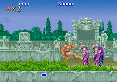 Altered Beast - Sega Mega Drive - A classic