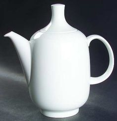 rosenthal continental plus white coffeepot