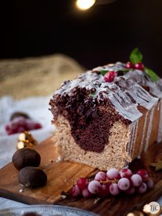 Jaleo in the Kitchen: Christmas Loaf chestnuts and chocolate cake Biscuit Bar, Plum Cake, Loaf Cake, My Dessert, Christmas Chocolate, Pound Cake Recipes, Cupcake Cookies, Cupcakes, Yummy Treats