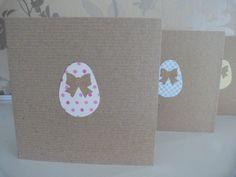 Handmade Easter Greetings Cards. £2.00, via Etsy.