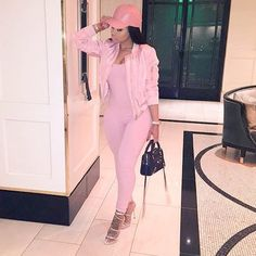 Pink bodysuit Everyday we wear pink! Let your feminine style take center in this pink full bodysuit! It's a size medium but can fit a small as well. ( not from listed brand) Nasty Gal Pants Jumpsuits & Rompers