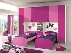 Purple Bedroom Colour Schemes Wall Color Combinations Light Decor violet color combination for wall - Violet Things Modern Kids Bedroom, Kids Bedroom Designs, Bedroom Furniture Design, Home Room Design, Kids Room Design, Bed Design, Girls Bedroom, Girl Room, Bedroom Decor