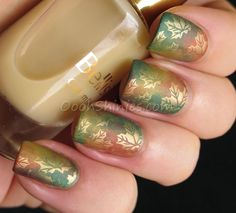 And here's fall on my nails! | Oooh, Shinies!