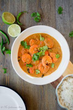 Goan Prawns Curry | The Gastronomic BONG