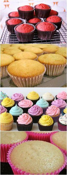New cupcakes recetas sweets 17 Ideas Fondant Cupcakes, Yummy Cupcakes, Chocolate Cupcakes, Chocolate Recipes, Winter Desserts, Vanilla Buttercream Icing, Christmas Chocolate, Pasta, Cream Recipes