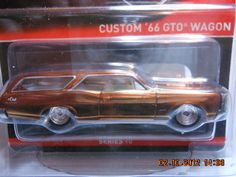 Hot Wheels CUSTOM '66 GTO WAGON Real Riders RLC Red Line Club