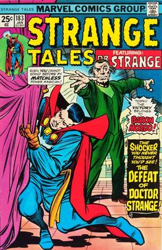 Cap'n's Comics: Strange Tales #183 Cover by Jack Kirby