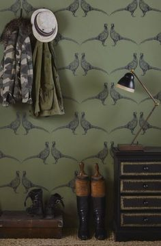 Farmhouse Pantry Wallpaper 38 Ideas #farmhouse
